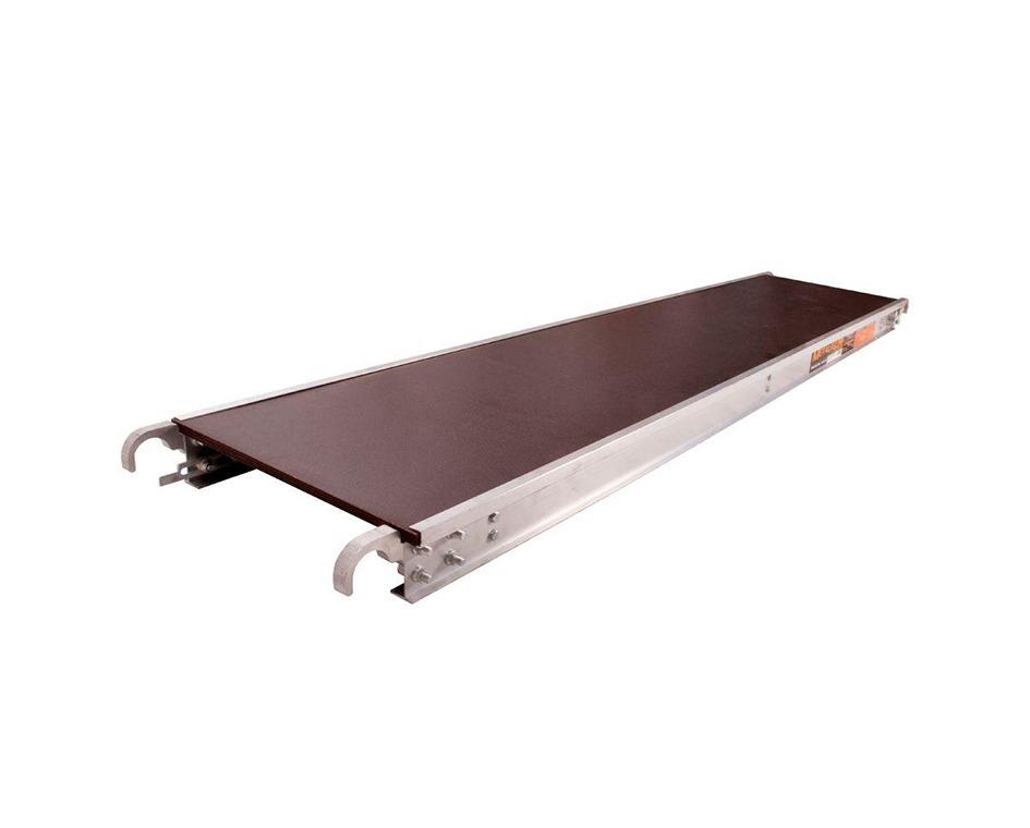 Plateforme aluminium échafaud 7pi x 19po