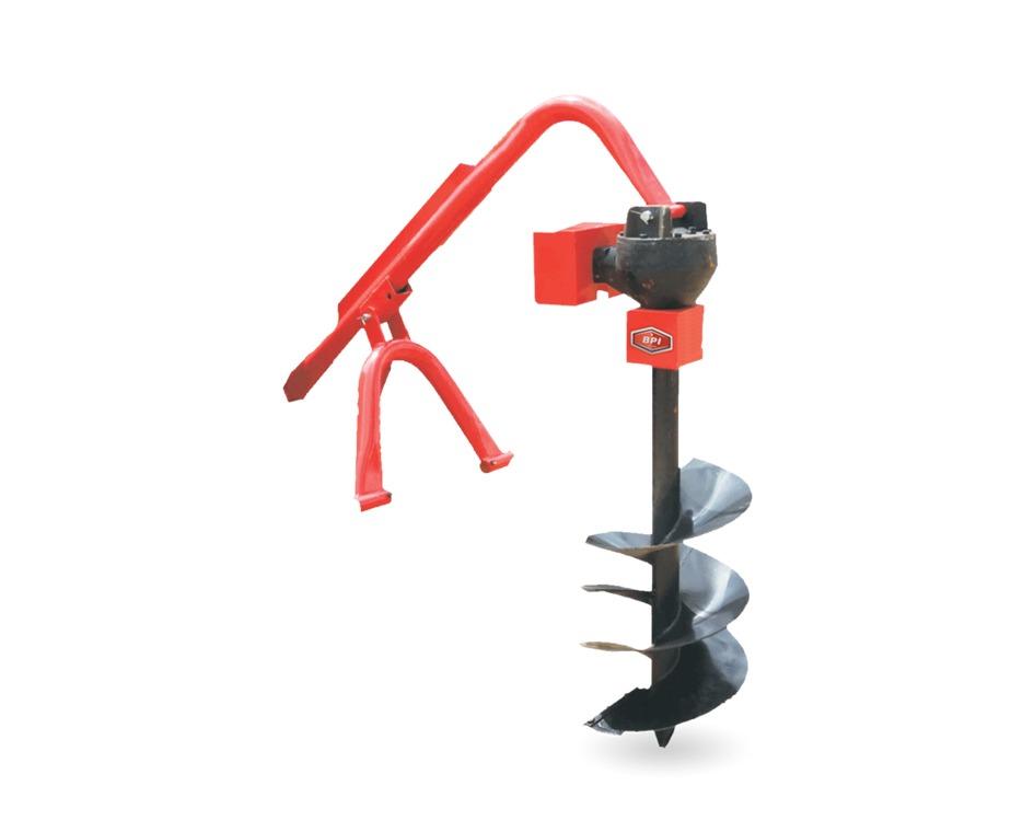 Tarière hydraulique pour machinerie