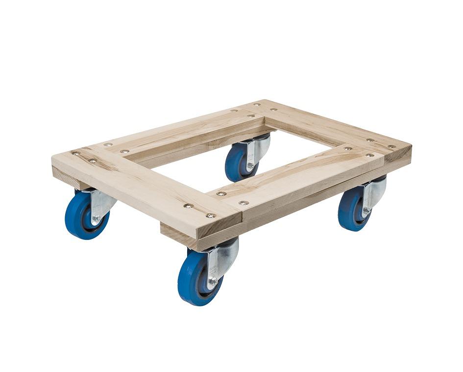 Chariot roues bleues capacité 1200 lbs