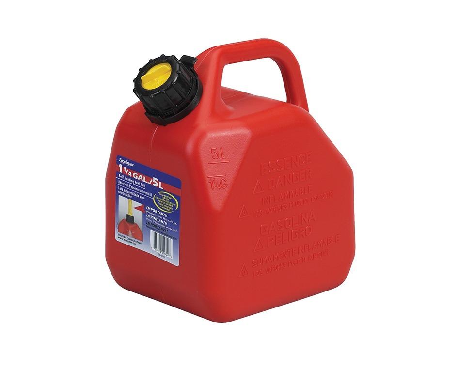 Bidon essence mélangée 5l rouge