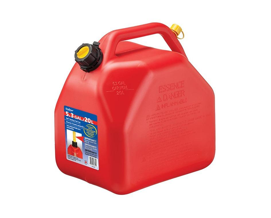 Bidon essence super 20 litres rouge
