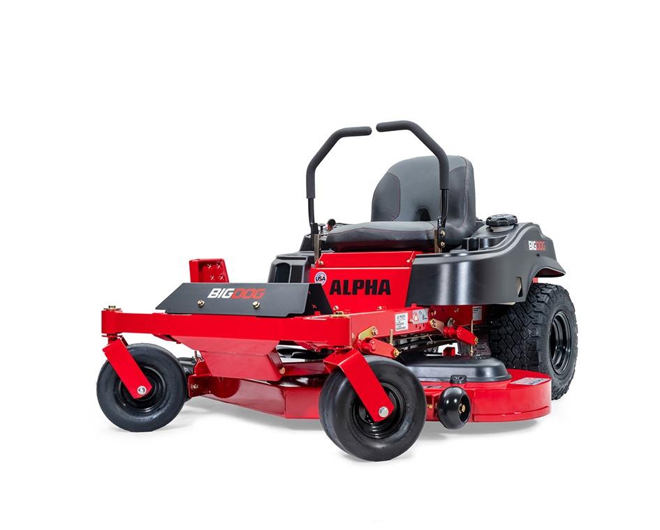 Tracteur à gazon Bigdog zero-turn alpha 52po